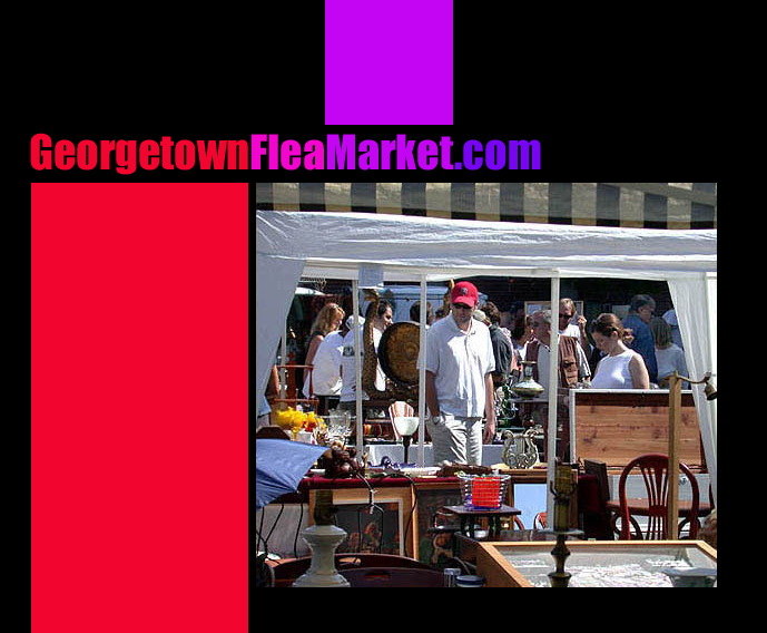 Washington Dc Georgetown Flea Market Antiques Collectibles